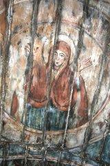 Juliţa, biserica dintre meri