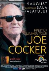 Un mare muzician poposeşte la Bucureşti: JOE COCKER