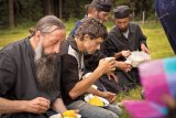 Cete îngereşti la Mânăstirea Oaşa