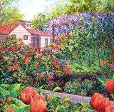 Grădiniţa de flori a bunicii