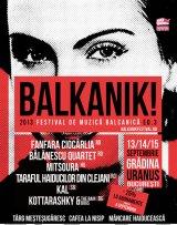 Festival balcanic în Capitală