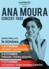 Speranţa muzicii fado vine în România: ANA MOURA