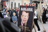 La Cluj, printre demonstranţi: