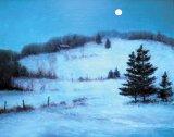 Iarna, când răsare luna