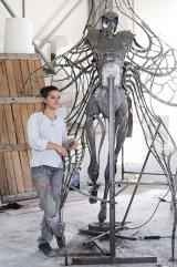 Când femeile fac artă cu dalta şi cu ciocanul: Mara Vâlceanu-Breza şi Misha Diaconu