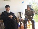 Cu părintele NICANOR LEMNE, la 99 de ani