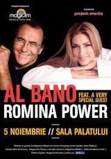 Împreună, la Bucureşti: AL BANO şi ROMINA POWER