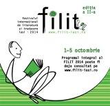 Festivalul Internaţional de Literatură si Traducere  de la Iasi. Octombrie 2014
