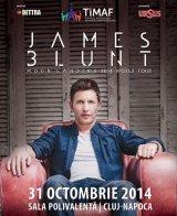JAMES BLUNT vine la Cluj înarmat cu o chitară