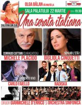 """Una serata italiana"" - la Bucureşti"