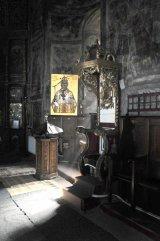 Călugărul iconar PAVEL SĂVINESCU de la Mânăstirea Tazlău