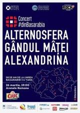 Desant basarabean, cu rezonanţă istorică: Alternosfera, Gândul Mâţei şi Alexandrina