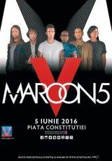 """Un concert de zile mari:""""MAROON 5"""" la Bucureşti"""
