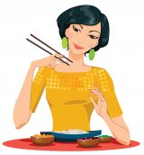 Cum mănâncă alţii