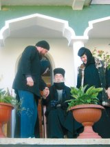 Părintele DIMITRIE PAPACIOC - Mânăstirea Cârţişoara din Munţii Făgăraş -
