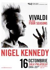 NIGEL KENNEDY, geniul viorii, concertează la Bucureşti şi la Cluj