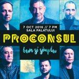 Concerte tandre, la început de octombrie: PROCONSUL şi MIRABELA DAUER