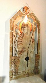 Despre taina icoanelor, cu MARIA CONSTANTINESCU - pictoriţă pe sticlă