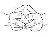 Să respirăm cu degetele!
