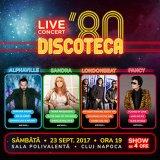 DISCOTECA '80 - Alphaville, Sandra, Londonbeat şi Fancy