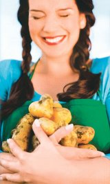Cura cu cartofi şi iaurt