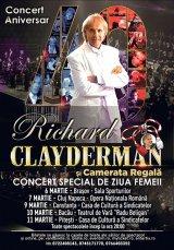 """Mărţişor franţuzesc: RICHARD CLAYDERMAN - """"Cred că mi-au zâmbit zeii"""""""