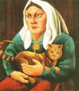 Poveste cu o bunică şi o pisică