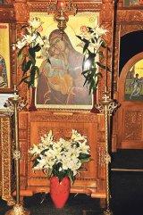 Maica HRISOSTOMA CRUŞOVEANU - stareţa Mânăstirii Buneşti, jud. Braşov -