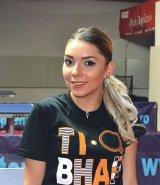 BERNADETTE SZOCS - campioană la tenis de masă -