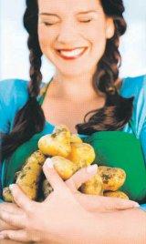 Slăbiţi cu cartofi!