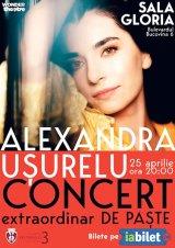 """Concert extraordinar de Paşti - ALEXANDRA UŞURELU -  """"Cu voi am să-mpart clipele divine,/ Cu voi am să-mi cânt vânarea de vânt"""""""