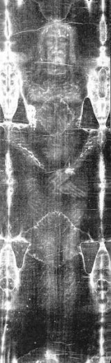 Copia giulgiului in care a fost invelit Iisus a fost adusa in Romania
