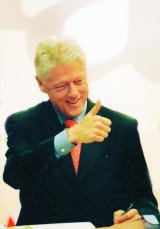 Bill Clinton la Bucuresti