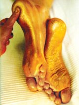 Ingrijirea  picioarelor cu produse naturale