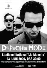 Depeche Mode vine in Romania!