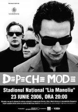 Depeche Mode vine in Romania!