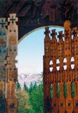 Scene de primavara la Manastirea Izvorul Muresului