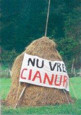 Romania nu vrea cianuri!