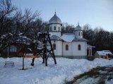 Iarna, la Manastirea Marcus