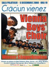 """VIENNA BOYS CHOIR"" in Romania"