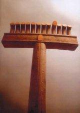 Eternitati din lemn - Expozitia sculptorului AUREL CONTRAS