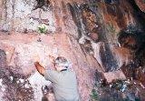 Sfantul de piatra de pe muntele Ragamenti