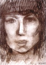 Singura in regatul picturii: RODICA LAZAR