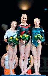 Triumf romanesc la gimnastica