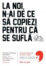 Festival de teatru pentru liceeni - IDEO IDEIS