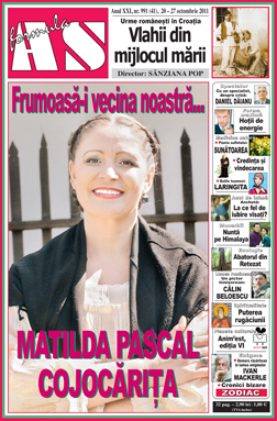 Frumoasa-i vecina noastra... Matilda Pascal Cojocarita