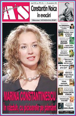 Marina Constantinescu - In vazduh, cu picioarele pe pamant